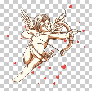 Cupid Cherub Illustration PNG