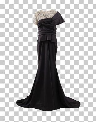 Little Black Dress Evening Gown Ball Gown PNG