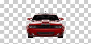 Muscle Car Bumper Dodge Automotive Design PNG