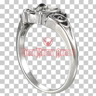 Silver Wedding Ring Gemstone Jewellery PNG