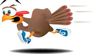Turkey Trot 5K Run Running Walking Thanksgiving PNG