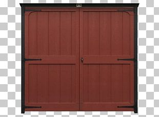Hardwood Wood Stain Door Armoires & Wardrobes Shed PNG