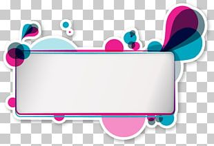 Posters Colorful Decorative Elements PNG