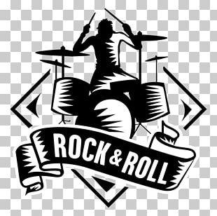 T-shirt Rock Music Logo PNG