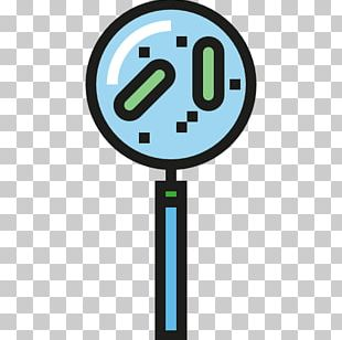 Bacteria Microorganism Computer Icons Magnifying Glass PNG