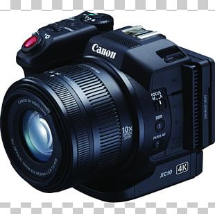 Canon XC10 Camcorder 4K Resolution Camera PNG