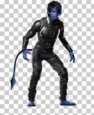 Professor X Nightcrawler Quicksilver Cyclops Storm PNG