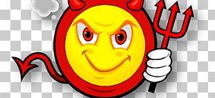 Devil Smiley Chort Workshop PNG