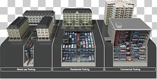 Car Parking System Automated Parking System Building PNG