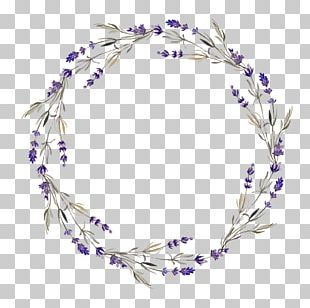 Wreath Lavender Flower PNG