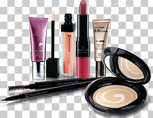 Cosmetics Makeup Brush Mirror Toiletry Bag PNG