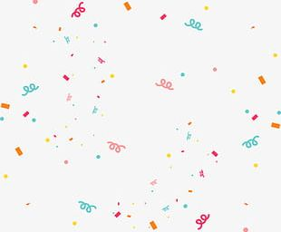 Confetti Effect PNG