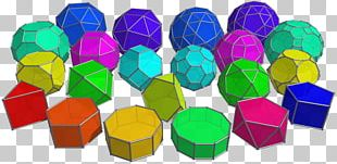Regular Polyhedron Truncated Octahedron Geometry PNG