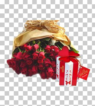 Flower Bouquet Rose Valentine's Day Gift PNG