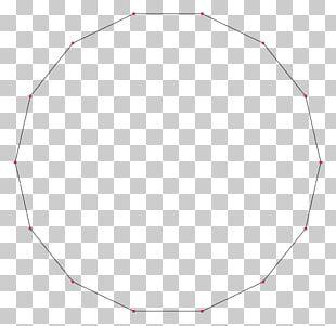 Regular Polygon Shape Hexadecagon Circle PNG