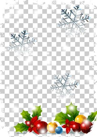 Christmas Poster Paper PNG