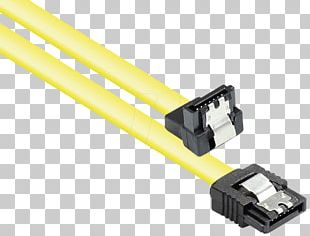 Network Cables Serial ATA Electrical Cable Electrical Connector Hard Drives PNG