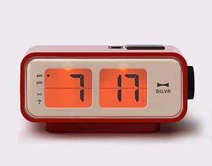 Bedside Tables Alarm Clocks Flip Clock Retro Style PNG