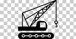 Crane Architectural Engineering Heavy Machinery Building Computer Icons PNG