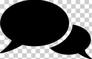 Conversation Speech Balloon PNG