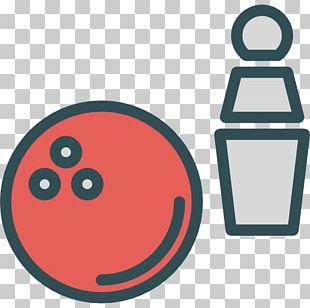 Bowling Pin Bowling Ball Icon PNG