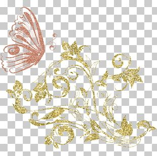 Monarch Butterfly Gold Butterfly Effect PNG