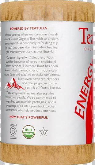Tea Bag Brand Superfood Energy PNG