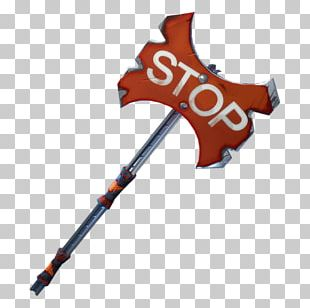 Pickaxe Fortnite Stop Sign St Mary Axe PNG