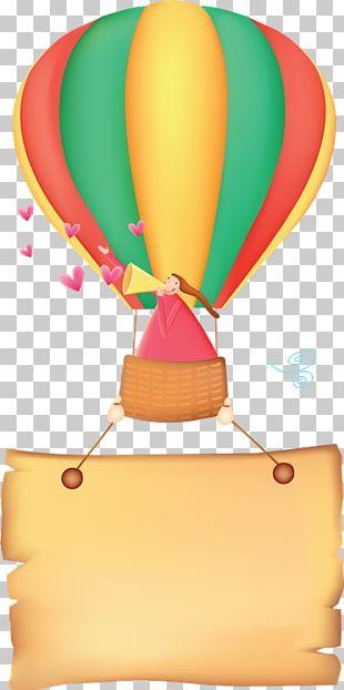 Toy Balloon Hot Air Balloon Aerostat Birthday PNG