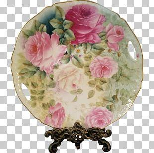 Garden Roses Floral Design Cut Flowers Vase PNG