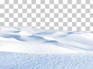 Arctic Sky Snow Pattern PNG
