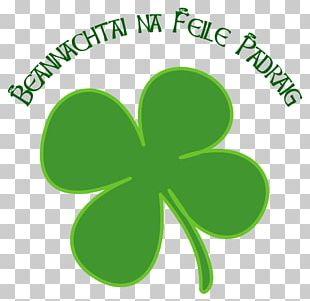 Ireland Shamrock Saint Patrick's Day Four-leaf Clover PNG