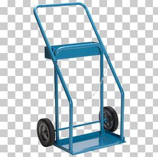 Hand Truck Cart Wheel Gas Cylinder PNG