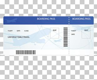 Airplane Airline Ticket Boarding Aircraft PNG