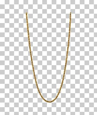 Necklace Gold Plating Jewellery Chain PNG
