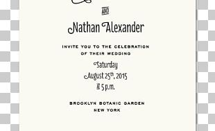 Wedding Invitation Convite Bride & Groom Direct PNG
