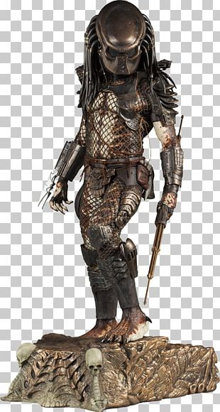 Predator Alien Maquette Sideshow Collectibles Statue PNG