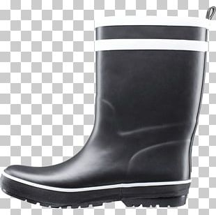 Boot Shoe Black M PNG