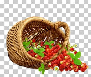 Fruit Strawberry Food Gift Baskets PNG