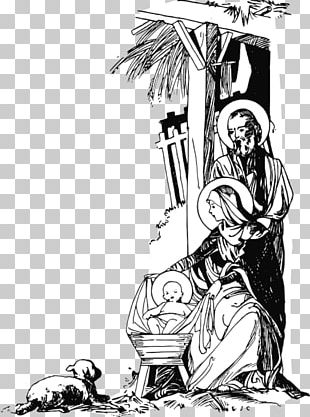 Nativity Of Jesus Child Jesus Manger PNG