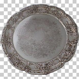 Platter Buffet Tableware Silver Plate PNG