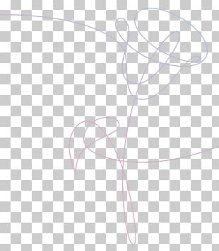 Love Yourself: Her BTS Wings Album Flower PNG