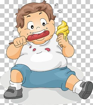 Eating Boy Child PNG