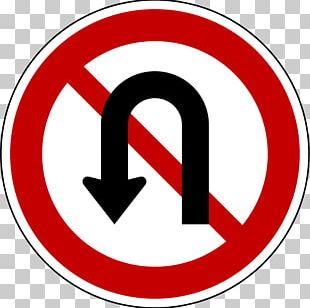 Road Signs In Singapore Traffic Sign U-turn The Highway Code PNG