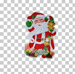 Santa Claus Christmas Ornament Graphic Design PNG