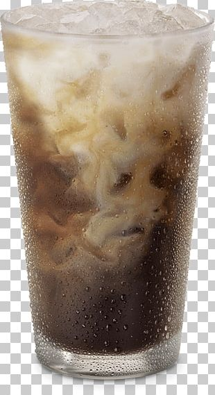 Iced Coffee Cafe Espresso Cold Brew PNG