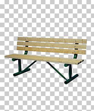 Bench Table Wood Golden Gate Park PNG