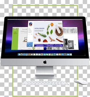 "Computer Monitors Desktop Computers Apple IMac 21.5"" (Late 2015) PNG"