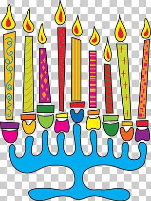 Hanukkah Menorah Dreidel Greeting & Note Cards PNG