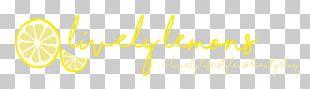 Lemon Logo Brand Desktop PNG